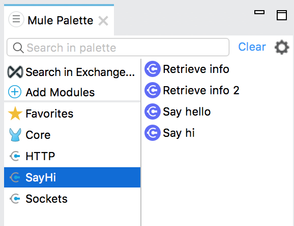 Adding Mule Custom Module to Anypoint Studio