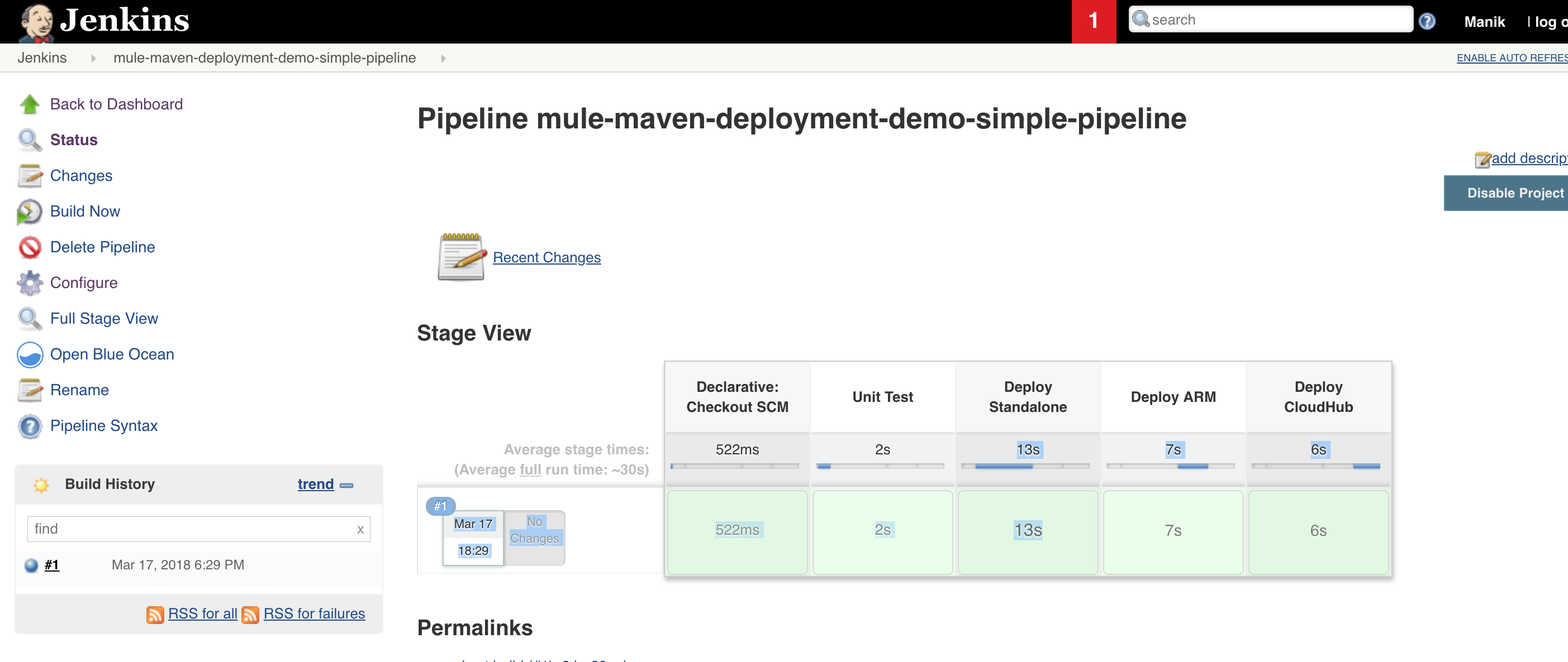 How to deploy a Mule application with a Maven and Jenkins pipeline